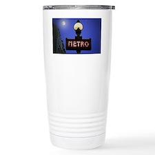 Full Moon Paris Metro Travel Mug