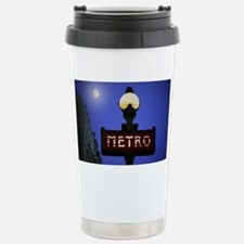Full Moon Paris Metro Travel Mug