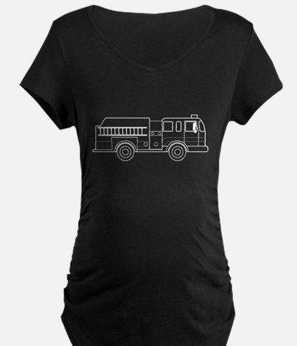 Cute firetruck Maternity T-Shirt