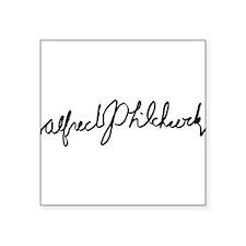 hitvhcockmug Sticker