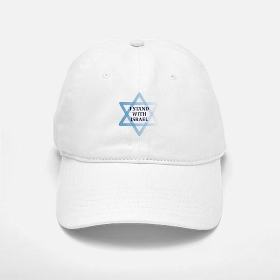 I Stand with Israel Baseball Baseball Baseball Cap