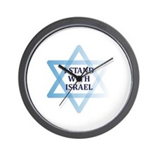 I Stand with Israel Wall Clock