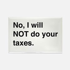 Do your own taxes Magnets