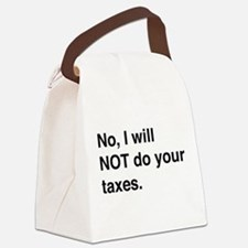 Do your own taxes Canvas Lunch Bag