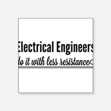 Electrical engineers resistance Sticker