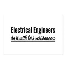 Electrical engineers resistance Postcards (Package