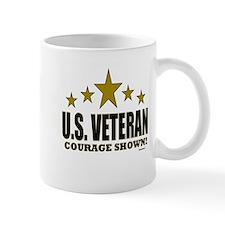 U.S. Veteran Courage Shown Mug