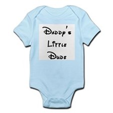 Daddy's Little Dude Infant Bodysuit