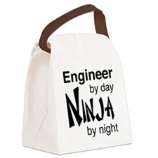 Engineer by day ninja by night Canvas Lunch Bag
