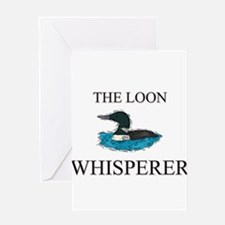 Unique Loons Greeting Card