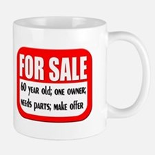For Sale 60th Birthday Mug