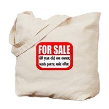 For Sale 60th Birthday Tote Bag