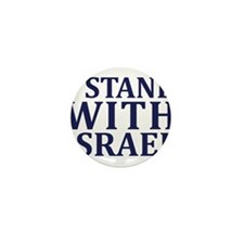 I Stand with Israel - Logo Mini Button