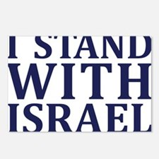 I Stand with Israel - Logo Postcards (Package of 8