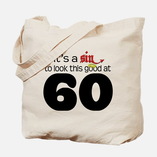 Look Good 60 Birthday Tote Bag