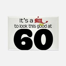Look Good 60 Birthday Rectangle Magnet