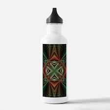 Funny Math fractal Water Bottle