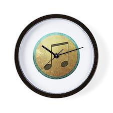 Melodic Sheild Wall Clock