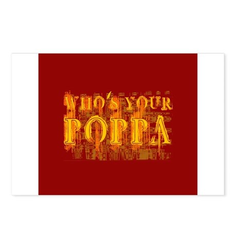 Who's Your Poppa Postcards (Package of 8)
