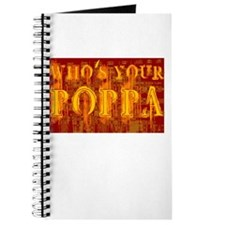 Who's Your Poppa Journal