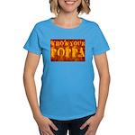 Who's Your Poppa Women's Dark T-Shirt