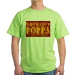 Who's Your Poppa Green T-Shirt