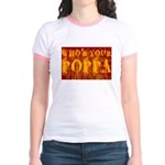Who's Your Poppa Jr. Ringer T-Shirt