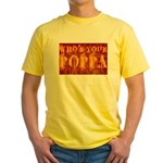 Who's Your Poppa Yellow T-Shirt