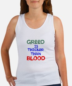 Cute Blood is thicker Women's Tank Top