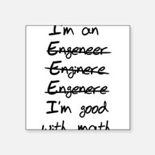 Engineer misspelling Sticker