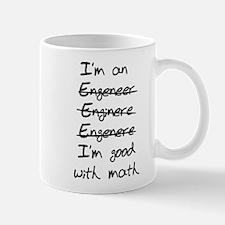 Engineer misspelling Mugs