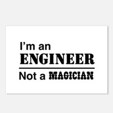 Engineer, not magician Postcards (Package of 8)