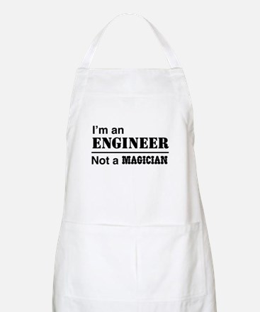 Engineer, not magician Apron