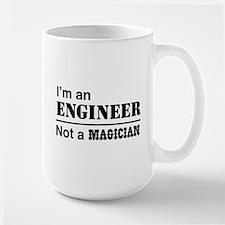 Engineer, not magician Mugs
