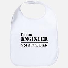 Engineer, not magician Bib