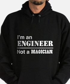 Engineer, not magician Hoody