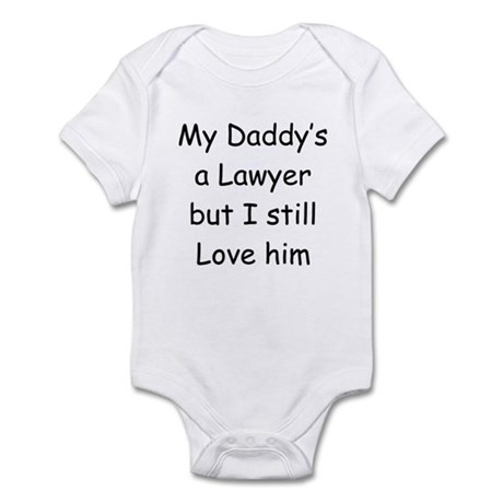 Daddy is a Lawyer Infant Bodysuit