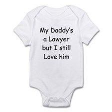 Daddy is a Lawyer Onesie