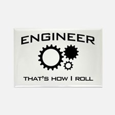 Engineer that's how I roll Magnets