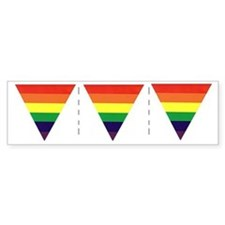 Three Triangles Share-a-Car Sticker