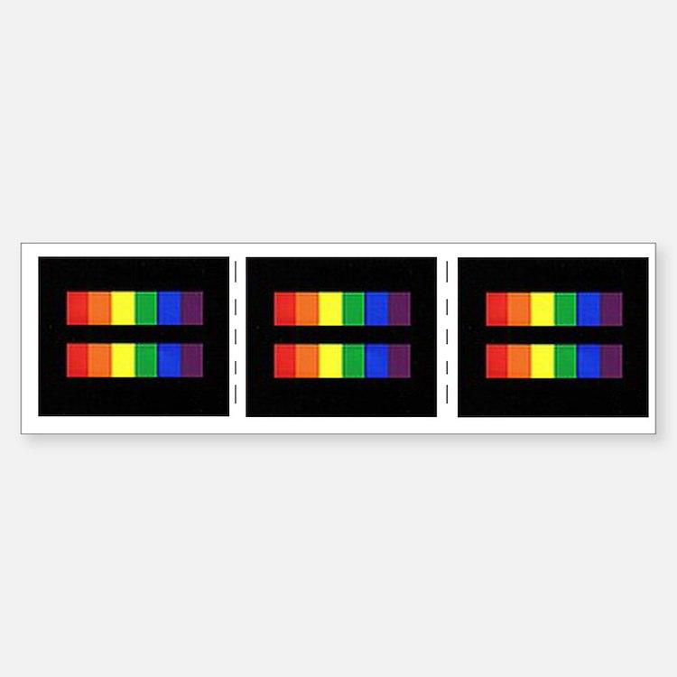 Rainbow Equality Share-A-Bumper Bumper Sticker