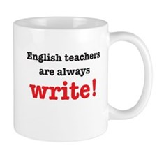 English teachers always write Mugs
