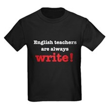 English teachers always write T-Shirt