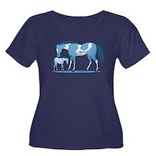 I Love Horse Plus Size T-Shirt