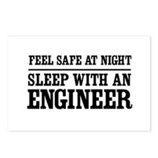 Feel safe sleep engineer Postcards (Package of 8)