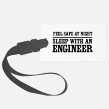 Feel safe sleep engineer Luggage Tag