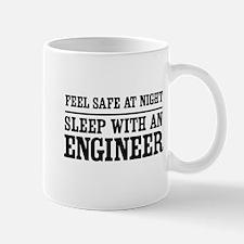 Feel safe sleep engineer Mugs