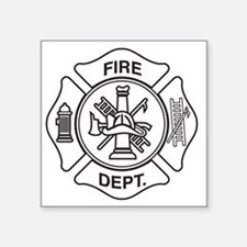Fire department symbol Sticker