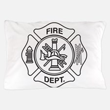 Fire department symbol Pillow Case
