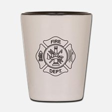 Fire department symbol Shot Glass